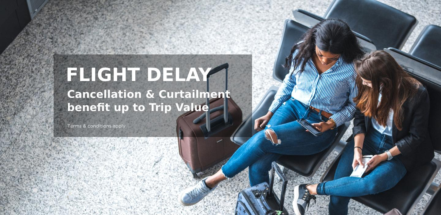 Flight Delay Cancellation & Curtailment benefit